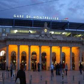 GARE DE MONTPELLIER – FRANCE