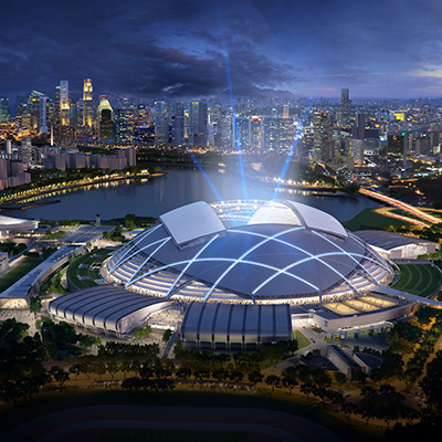 SPORTS HUB – SINGAPOUR