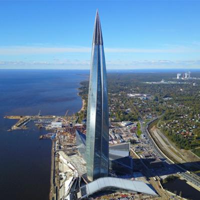 LAKHTA CENTRO GAZPROM – RUSIA